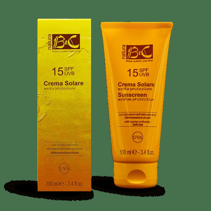 Crema solare SPF 15