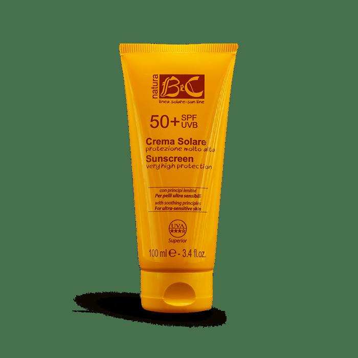 Crema Solare SPF 50+