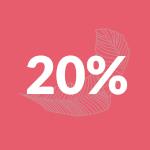 Logo 20% | BeC